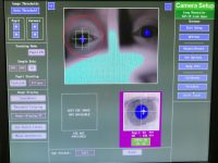 The EyeLink 1000 interface